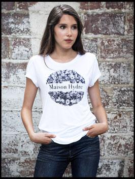 """Tee Shirt Femme """"La couronne de fleurs"""""""