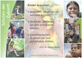 Poster A2 »Was brauchen Kinder«