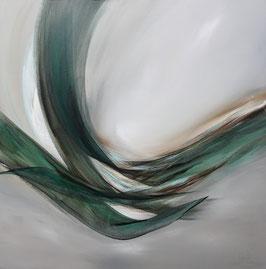 Original Abstracte Kunst, Acrylgemälde, Handgemalt, Unikat, Format: 80x80x3,5 cm