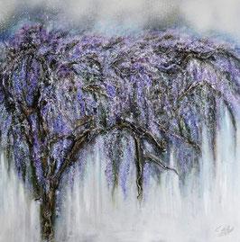 Acrylgemälde - Floral - BLUMEN / UNIKAT - Handgemalt