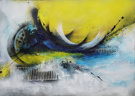 Zeitgenössisches Gemälde, Acrylmalerei, Moderne Kunst, Leinwandbild Abstract, Struktur, Handgemalt, UNIKAT