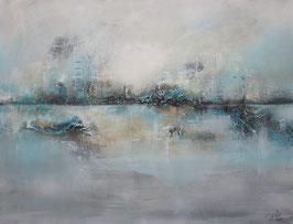 Abstractes Gemälde, Handgemalt, Unikat