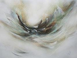 Original Abstracte Kunst, Acrylgemälde, Handgemalt, Unikat, Format 80x60x3,5 cm