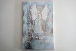 ENGEL / Abstraktes Gemälde, Handgemalt, UNIKAT