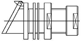 Zapflochklappen Gr. 37 V4A pol.