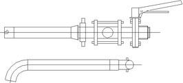Abstichvorrichtung Gr. 37 V2A