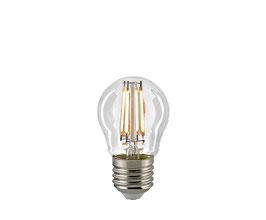 LED Kugellampe, E27, Filament, CRI95, Dimmbar, Klar