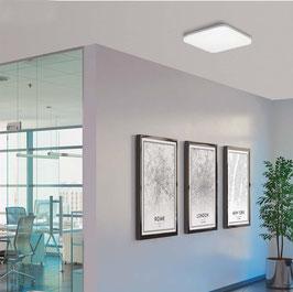 LED-Deckenleuchte UZZA eckig - dimmbar
