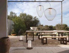 CELL Pendel Outdoor / Bad in bronze - Designer Mateo Ugolini von Karman