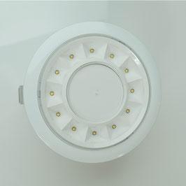 Edle weiße Einbaudownlights / medium  - D 14,5 cm - Luxillo