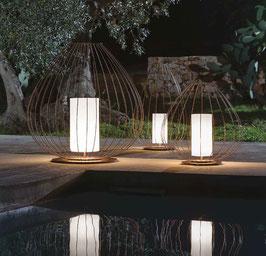 CELL Boden Outdoor / Bad in bronze - Designer Mateo Ugolini von Karman