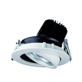 DOTLUX LED-Deckeneinbaustrahler schwenkbar, TURN 30W, 3000K