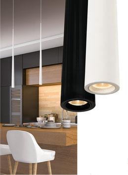 LED-Pendelleuchte Slim - Anbau und Einbau