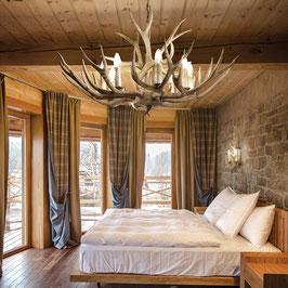 Landhaus Pendelleuchte Chalet - Ideal Lux