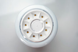 Edle weiße Einbaudownlight / small - D 12,2 cm - Luxillo