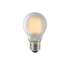 LED Normallampe, E27, Filament, 2700 K,  Dimmbar, Matt