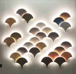 Palm LED-Wandleuchte 21cm - NEU! - MASIERO Design: mammini . candido