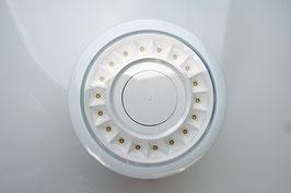 Edle weiße Einbaudownlights / groß  - D 17,0 cm - Luxillo