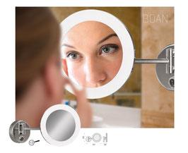 LED-Spiegelleuchte - 3x Vergrößerung