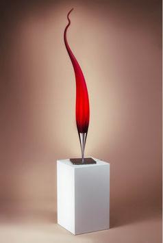 DUBAI Tischleuchte Tropfen ca. 100cmx15cm in rot von Karl Schmid