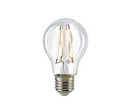 LED Normallampe, E27, Filament, 2700 K, Dimmbar,  Klar