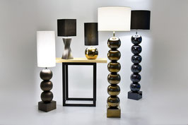 Bilba Metall sechsfach mit kurzem Schirm - Bodenleuchten - envy lighting