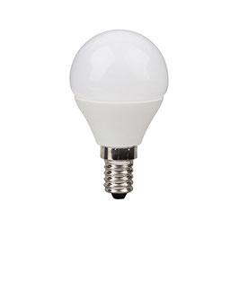 LED Lampe, E14, Kugelform, ECOLUX, 806 Lumen, nicht dimmbar