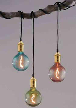 ORIENTAL  LED-Globe-Lampen GIZEH, E27 - 18 x 12,5 cm