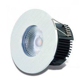DOTLUX LED-Einbauleuchte MULTIsun 8W 2000-2800K Sunset dimming rund aluminium gebürstet