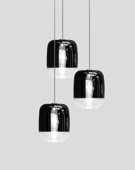 Prandina LED-Pendelleuchte GONG S1 dreifach rund - Design R&D Studio
