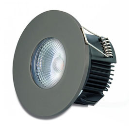 DOTLUX LED-Einbauleuchte MULTIsun 8W, 2000-2800K, Dimm to warm, IP65, anthrazit