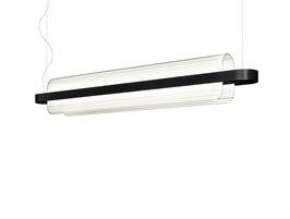 Nami schwarz - LED-Pendelleuchte - designed by Alberto Saggia & Valerio Sommella für Kundalini