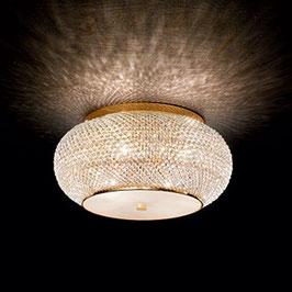 Deckenleuchte Pashà - gold oder silber - Ideal Lux