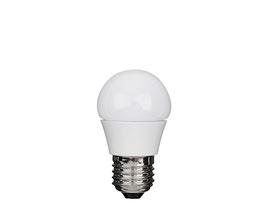 LED Kugellampe, E27, ECOLUX, Dimmbar
