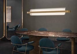 Nami messing - LED-Pendelleuchte - designed by Alberto Saggia & Valerio Sommella für Kundalini