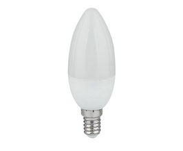 LED Kerzenlampen, E14, Dim-to-Warm, CRI 97, Matt Opal