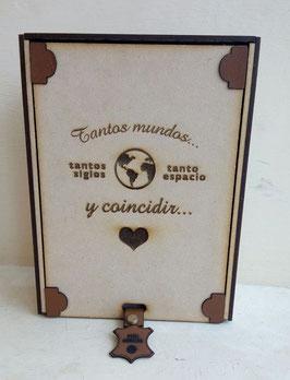 Caja de madera personalizada