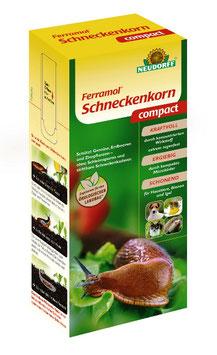 Ferramol Schneckenkorn compact - gegen Nacktschnecken, Eisen III-Phosphat | 700g Pfl. Reg. Nr. 3617