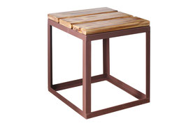 Outdoor-Hocker Wood