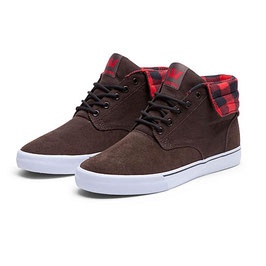 SUPRA Passion Midt brown/checker-white