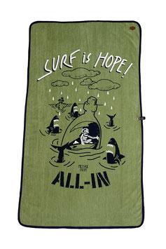 SERVIETTE ALL IN CATCH Hope surf