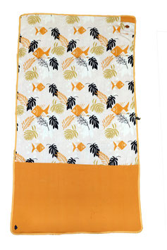 SERVIETTE ALL IN Large Sunfish melon waffle