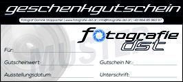 Fotoshooting Wertgutschein (Druckversion)