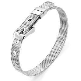 """Slide Bracelet """"Silber"""" 8mm"""