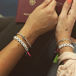 Armband #TRAVEL + #GOODLIFE