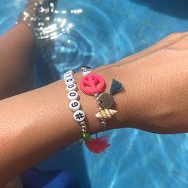 Personalisiertes Sommerarmband