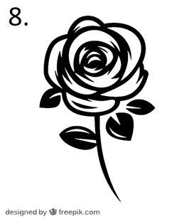 Blume Nr. 8