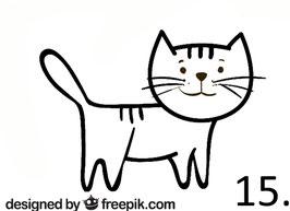 Katze Nr. 15