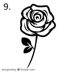Blume Nr. 9