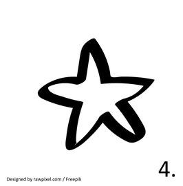Stern Nr. 4